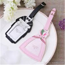 wedding favor luggage tags and groom luggage tag and place card holder engagement