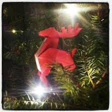 Origami Christmas Decorations Reindeer by I Want One Does Anyone Know How To Do Enormous Origami Haha