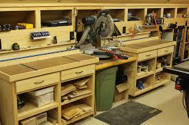 wood shop woodshop workshop 2nd floor of garage