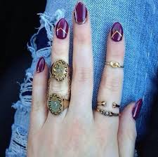 cool girl rings images Latest and stylish bohemian rings jpg