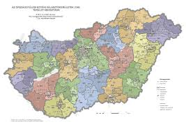 2014 Election Map by Parliamentary Election Map Hungary 2014 Geoindex