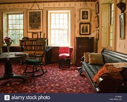 How To Decorate A Victorian Home by Den Or Study In An Old Victorian Mansion Stock Photo Royalty Free