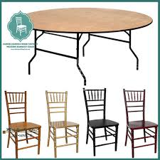 round wooden folding table wood round folding table and chair for party event buy used