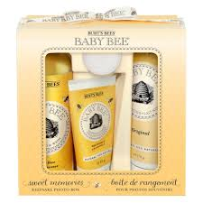 Burt S Bees Baby Wash by Burt U0027s Bees Baby Bee Sweet Memories Gift Set With Keepsake Photo