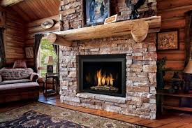 wood burning fireplace insert interior design