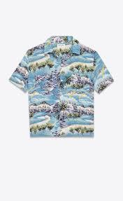 Hawaii Travel Shirts images Saint laurent short sleeve hawaiian shirt in multicolor hawaiian jpg