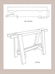 The Work Bench Build A 5 87 Sawbench By Chris Schwarz From The Workbench