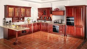 quality solid wood walnut kitchen cabinets 3d design free drawing