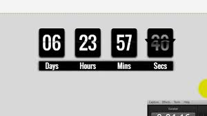 wix my website how to add a countdown clock to my wix website