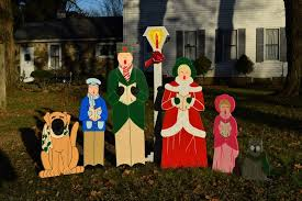 nativity yard sign outdoor yard