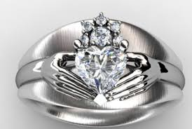 Claddagh Wedding Ring by Wedding Rings Claddagh Wedding Rings Bright Claddagh Wedding