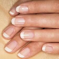 soften up the look of square nails by rounding their edges and the