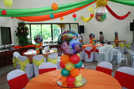 kiddie party sample set up the big event