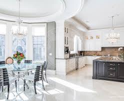 luxury kitchen breakfast area by mahzad homes mahzad homes