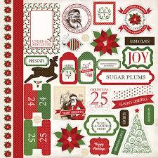 carta a merry elements stickers