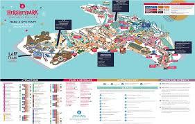 park maps spring summer fall u0026 winter hersheypark