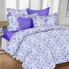 Throw Pillow Covers Online India Divine Casa Pack Of 4 100 Cotton Double Bedsheets With 8