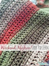 free pattern fast and easy crochet throw 2 stripe options