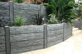 decorative concrete walls flex c cobblestone wall decorative