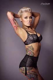 dekolgen tattoo eric liyah kane tattoo model