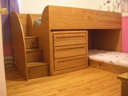 Bunk Beds With Dresser Bunk Bed With Dresser Drop C