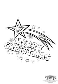 christmas star coloring pages getcoloringpages