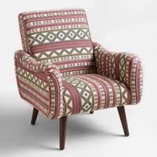 Printed Chairs Living Room by Living Room Chairs Arm U0026 Slipper Chairs World Market