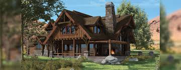 chalet home floor plans flat iron chalet hybrid log and timber home floor plan