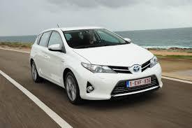 toyota auris toyota auris hybrid review auto express