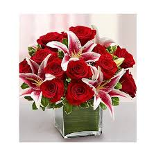 roses and lilies roses and lilies flower link