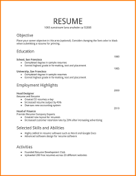Sample Resume For Part Time Job by 28 Times Job Resume Objective Part Of Resumes Jianbochen