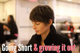 how long for hair to grow out of inverted bob tips for cutting your hair short or growing it out