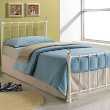 Childrens Bed Frames Jessica Metal Children U0027s Bed Cream