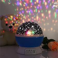 childrens night light projector children kids baby sleep lighting romantic rotating spin night light