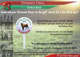 golfers square off in support of chess allycats co za