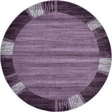 Polypropylene Rugs Toxic Purple 8 U0027 X 8 U0027 Loft Round Rug Area Rugs Esalerugs