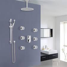 Bathroom Shower Set Buy Verona Bathroom Shower Set With Rainfall Shower