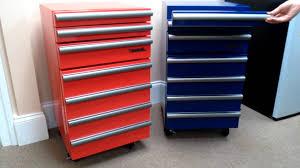 versonel portable garage toolbox tool chest refrigerators blue
