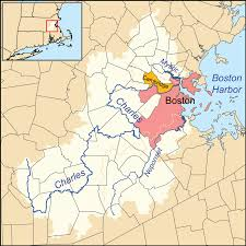 Map Of Boston Harbor by Growth Of Boston U0027s Shorelines Over 400 Years 1311 X 1268 Mapporn