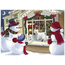 westie christmas cards the danbury mint