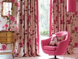 Home Decor Ideas Gold And Pink Accents Spring Decorating - Home decor curtain