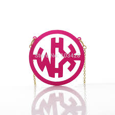 Custom Monogram Necklace Necklace Board Picture More Detailed Picture About Acrylic