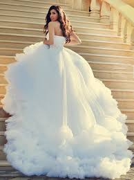 one shoulder wedding dresses buy luxious one shoulder court white wedding dress with