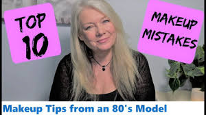 hair coloring tips for women over 50 top 10 makeup beauty mistakes tips mature over 50s women youtube