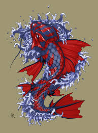 make mood tattoo koi fish tattoo design