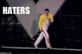 Hater Gonna Hate Meme - haters gonna hate meme gifs wifflegif
