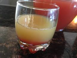 pineapple upside down cake cocktail vanilla vodka if you do it