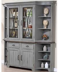 Oak Buffet And Hutch by Red Summer Savings On Colonnades Putty And Oak Buffet With