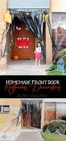 homemade front door halloween decoration the crafting nook by