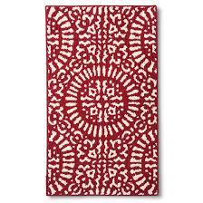 red medallion kitchen rug threshold target
